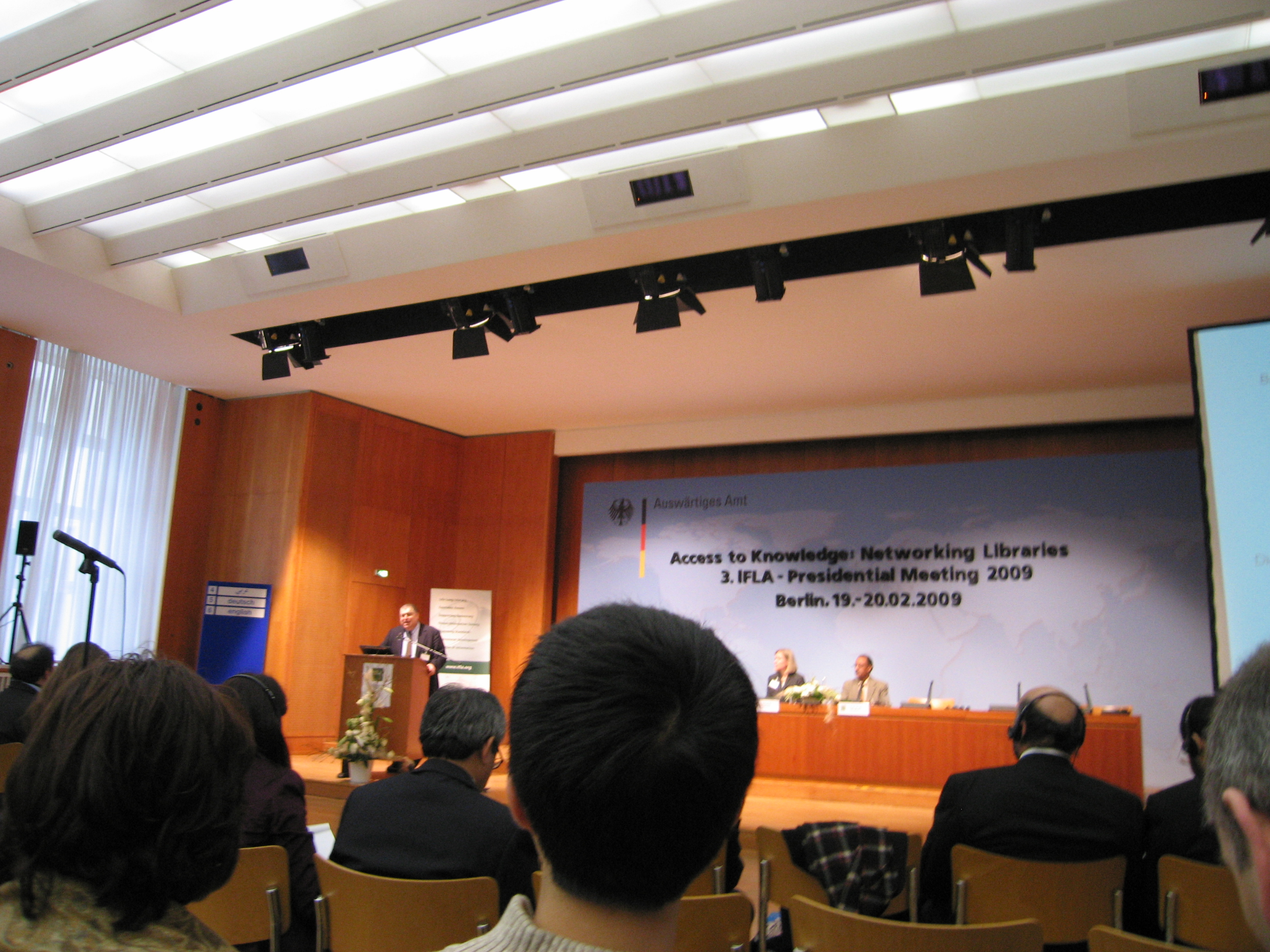 3. IFLA-Presidential-Meeting in Berlin
